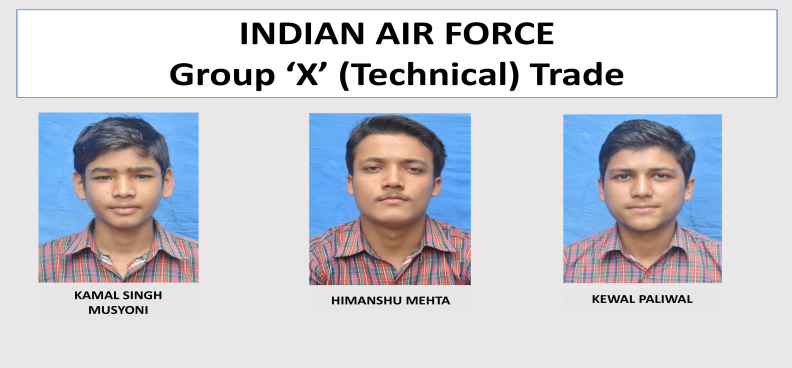 Selected in IAF Technical Trade